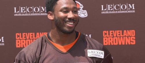 Cleveland Browns Joe Thomas has high praise for rookie Myles Garrett- Photo: YouTube