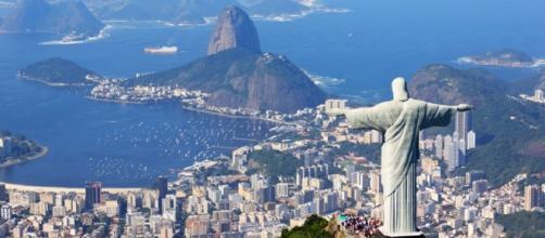 Cristo del Corcovado, la estatua cuenta con una elevada altura.