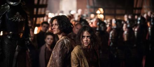 Ellaria Sand won't be making a triumphant comeback on Game of Thrones, ever. source: Pinterest