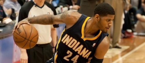 Golden State Warriors are interested in Paul George Flickr/Mark Runyon