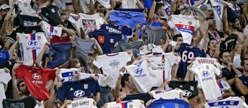 Les supporters lyonnais se sont régalés - S.Guiochon / Le Progrès
