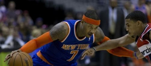 New Orleans Pelicans might to interested in Carmelo Anthony Flickr/Keith Allison