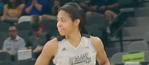 San Antonio tries to make it three in a row when they host Seattle on Saturday night. [Image via WNBA/YouTube]