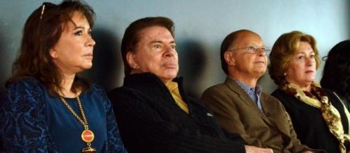 Silvio Santos e o dono da Record, Edir Macedo
