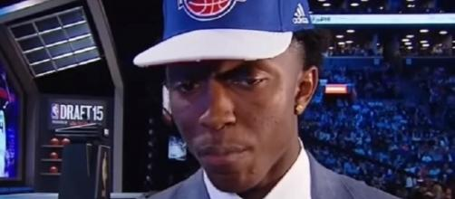Stanley Johnson averaged just 4.4 points in 77 games for the Pistons last season -- BadBoysRewind via YouTube