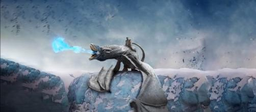 The Night King riding his ice dragon (The Book of White Walkers / YouTube)