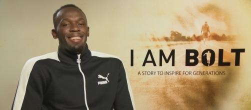 "Usain St. Leo Bolt, aka ""Lightning Bolt"", will be retiring after the World Championship Games. [Image Credit: ODN/Youtube]"