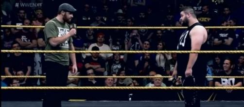 WWE news: Kevin Owens saves Sami Zayn at Canadian house show= WWE video screencap