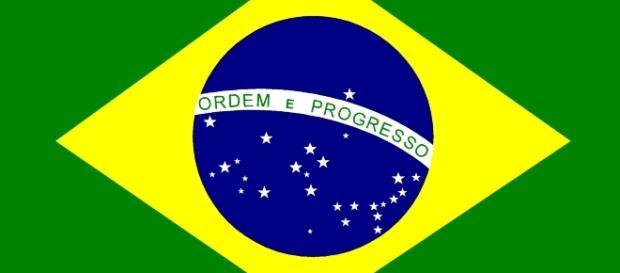 Bandeira do Brasil, o país irmão.