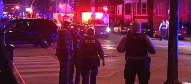 Chicago shoot out crime scene (Supaflyrobby wikimedia)