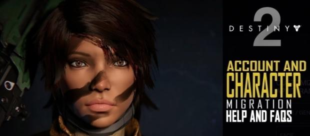 'Destiny 2' Character Migration will not allow players to customize Guardians. [Image via Destiny Tracker/YouTube]