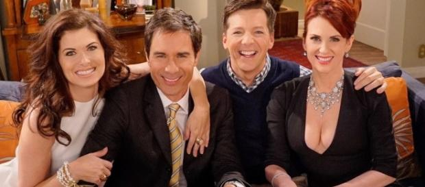 NBC announced the production and release of a second season for the comedy show. [Image Credit: Will & Grace/NBC Twitter]