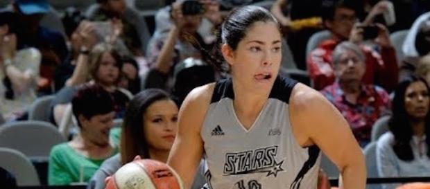 Rookie Kelsey Plum's 23 points helped the San Antonio Stars win their third-straight game. [Image via WNBA/YouTube]