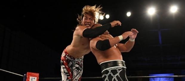 Tanahashi y su sling blade fueron claves en la lucha contra Ishii. njpw.co.jp.