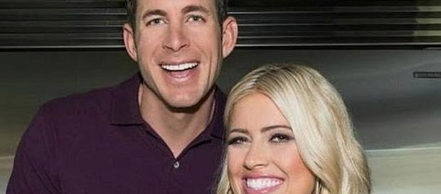 Tarek and Christina El Moussa are executive producers of a new show [Image: Nicki Swift/YouTube screenshot]