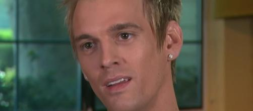 Aaron Carter and Madison Parker split; sexuality issues could have been the reason. Image via YouTube/ET