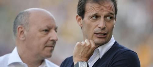 Beppe Marotta e Max Allegri studiano come rinforzare la Juventus... - eurosport.com