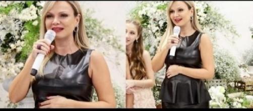 Eliana concedeu uma entrevista exclusiva