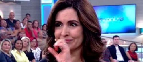 Fátima Bernardes homenageou o trabalho do artista