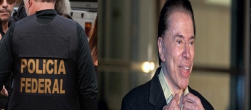 O empresário e apresentador de televisão Silvio Santos