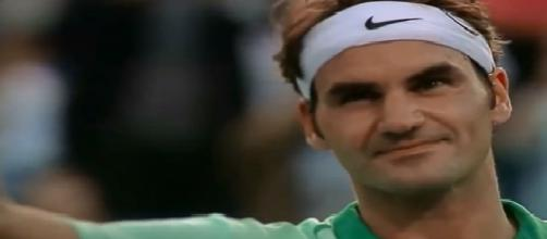 Roger Federer/ screenshot via YouTube