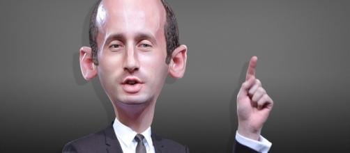 White House aide Stephen Miller / [Image by Donkey Hotey via Flickr, CC BY-SA. 2.0]