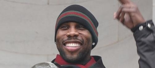 Wide receiver Anquan Boldin signs a one-year deal worth $4 million with the Bills -- Thaddeus Harrington via WikiCommons