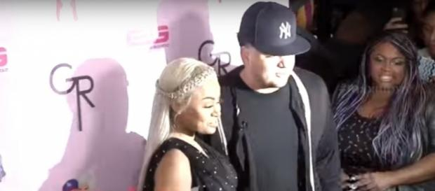 Blac Chyna and Rob Kardashian before they broke up. Image[MaximoTV-YouTube]