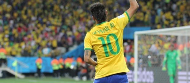 Brazil and Croatia match at the FIFA World Cup 2014-06-12. - Wikimedia