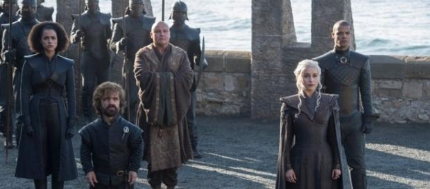 Daenery's advisers in 'Game of Thrones' prepare to welcome new allies in this scene. - Facebook/GameOfThrones