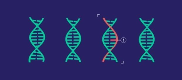Gene-editing tool CRISPR | credit, MIT Technology Review, YouTube