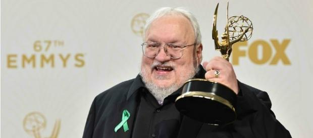 """George RR Martin revealed that he might finish """"The Winds of Winter"""" soon. Photo by Fandor/YouTube Screenshot"""