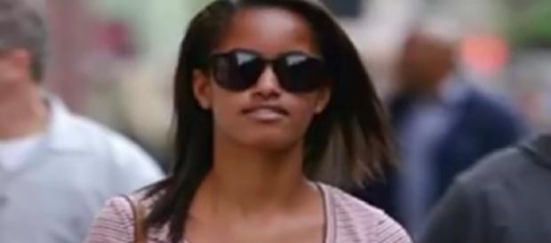 Malia Obama (Image via YouTube screenshot)