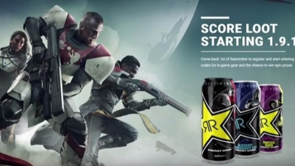 Destiny 2' & Rockstar energy drink partner up, rewards