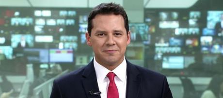 Dony De Nuccio fez sua estreia, nesta segunda (7), como novo apresentador do ''Jornal Hoje''