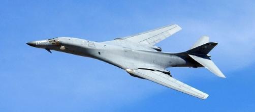 B1-B Bomber (Courtesy United States Air Force)