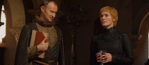 Cersei talking about The Golden Company. Screencap: Doran Martell via YouTube
