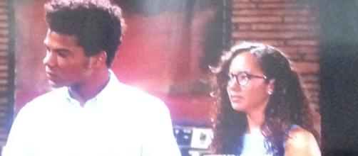 Charlie and Mattie Ashby. Screen shot. Cheryl Preston. The Young and the Restless.