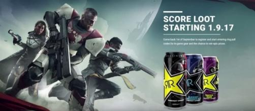 Destiny 2 Rockstar Energy Drink (BlastBrandon/YouTube Screenshot)