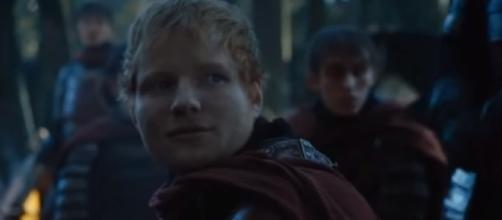 Ed Sheeran on 'Game of Thrones' [Image from Luski Yam official YouTube]