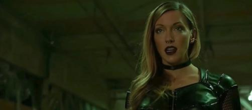 Katie Cassidy as Black Siren for 'Arrow'/Photo via screencap, 'Arrow'/The CW