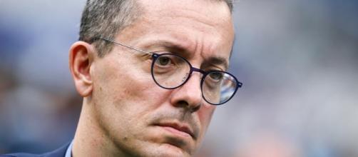 Le président Eyraud - Olympique de Marseille