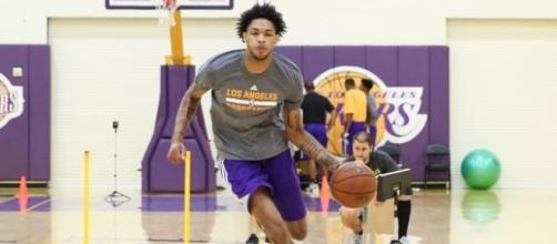 Los Angeles Lakers' Brandon Ingram is getting ready for his second NBA season - image source/Flickr - flickr.com
