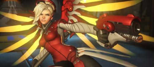 Mercy will get a new skin in Summer Games 2017! Image Credit: Blizzard Entertainment