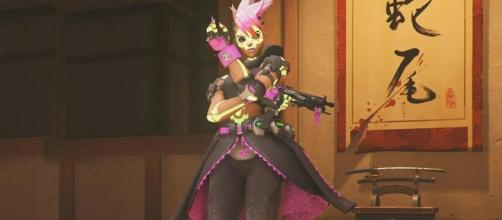 'Overwatch' Hero Sombra is getting a skin in the upcoming Summer Games 2017. (image source: YouTube/IGN)