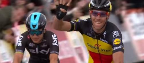 Philippe Gilbert, la vittoria all'Amstel