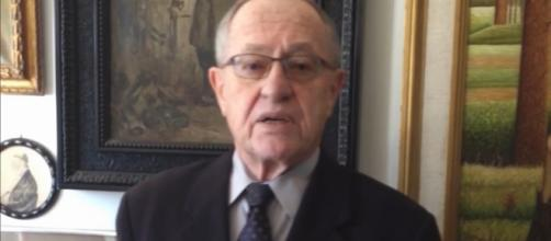 Professor Alan Dershowitz (still from Vimeo Zionist Organization of America)