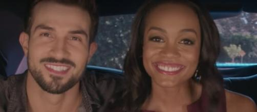 "Rachel Lindsay and Bryan Abasolo talks about life after ""The Bachelorette"" 2017. Credits via YouTube/The Bachelor Insider Channel"