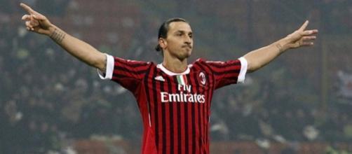 Sarà Zlatan Ibrahimovic il sospirato acquisto dei rossoneri per il reparto avanzato?