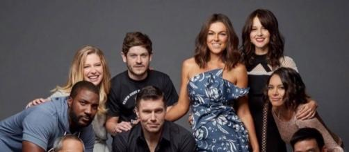 "Some of the cast members of Marvel's 'Inhumans,"" which airs on ABC in September. ~ Facebook/Inhumans"